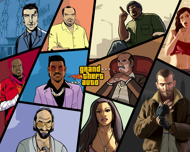 Photo of the story behind the GTA series