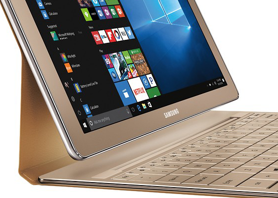 Photo of Samsung's Windows tablet returns with more memory and gilded shade