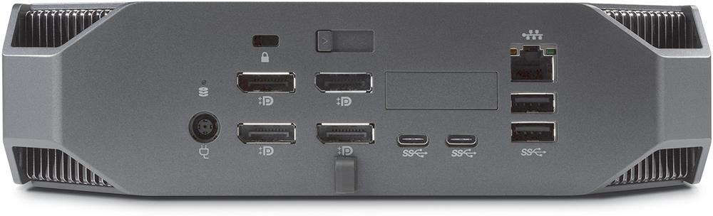 מערך החיבורים של ה-Z2 Mini G3 כולל ארבע יציאות DisplayPort בגודל מלא, ארבעה חיבורי USB 3.0 Type A, צמד חיבורי USB Type C, חיבור Gigabit Ethernet ועוד