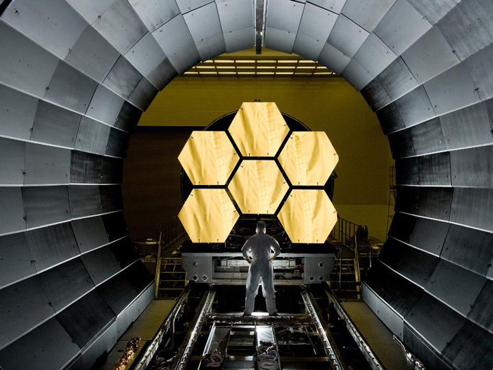 Photo of the $ 1 billion telescope is approaching