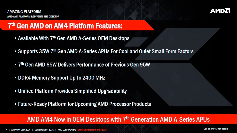 AMD's next generation continues to intrigue us