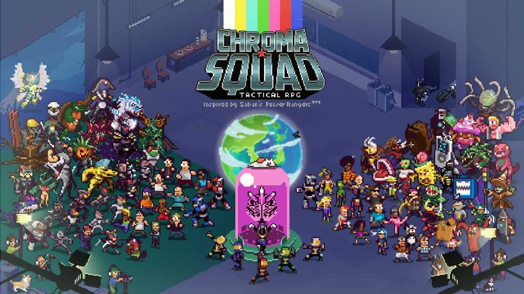 Chroma Squad - a game about people who decided to produce their own 'Power Rangers' series