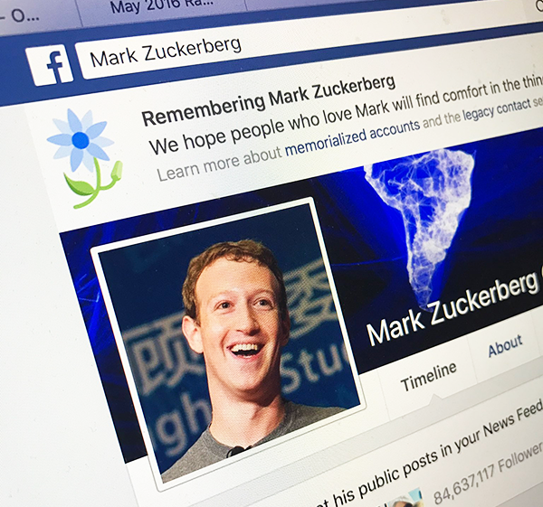 Photo of Oops: Facebook killed us all