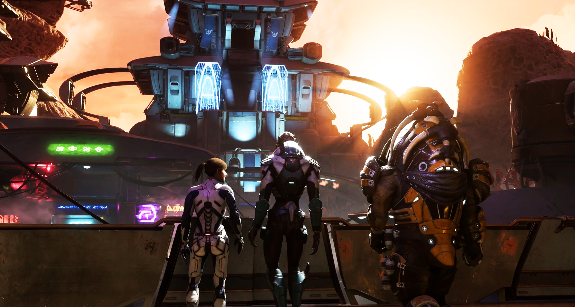 Photo of Watch: A mesmerizing video game of Mass Effect: Andromeda