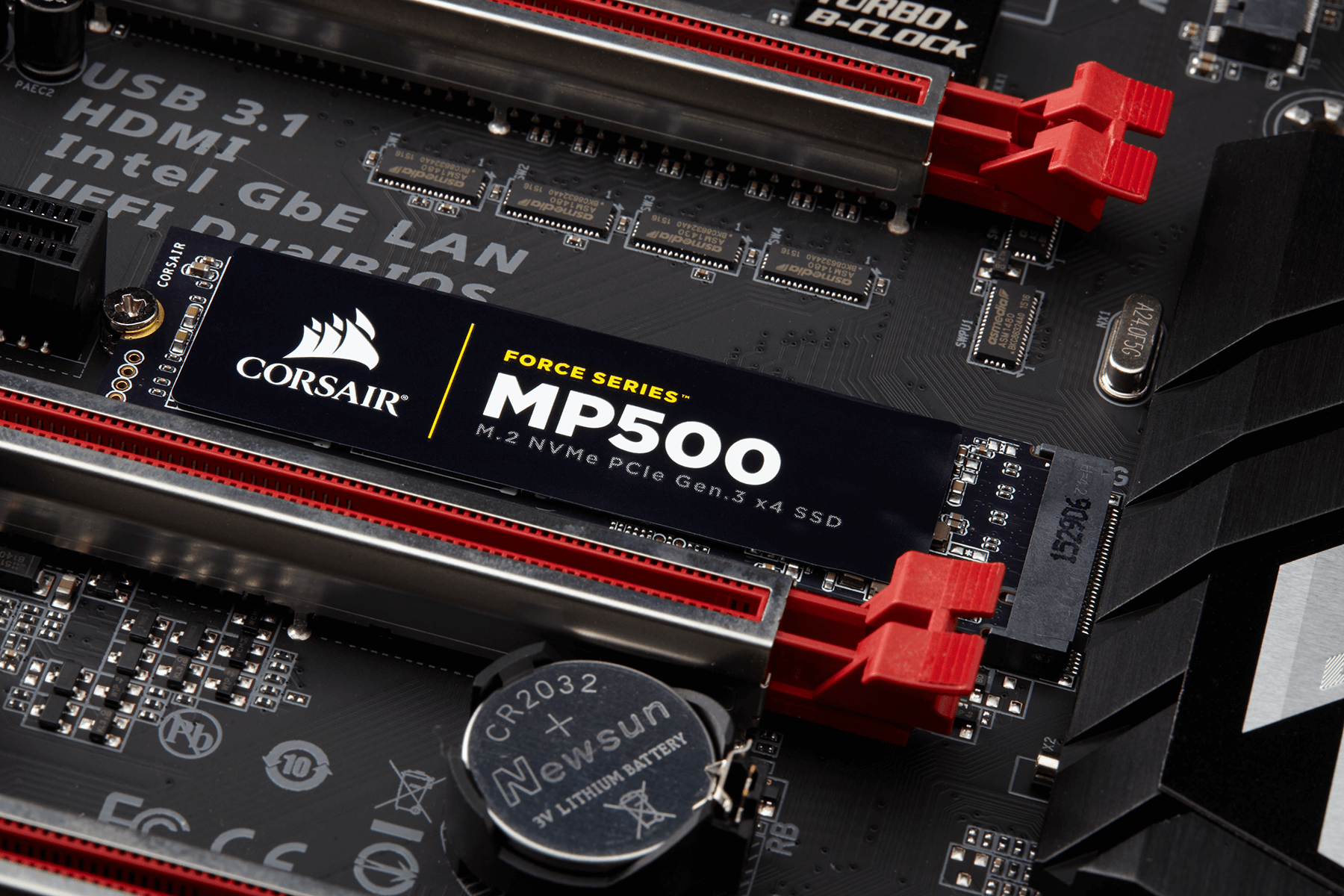 Photo of New entrant in the NVMe drives market: Introducing Corsair's MP500