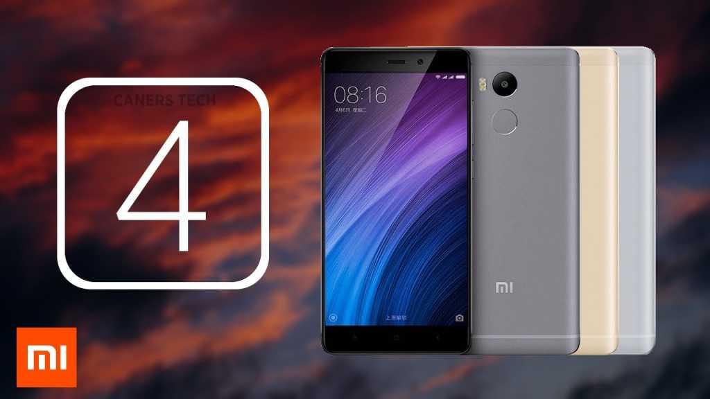 ה-Xiaomi Redmi 4