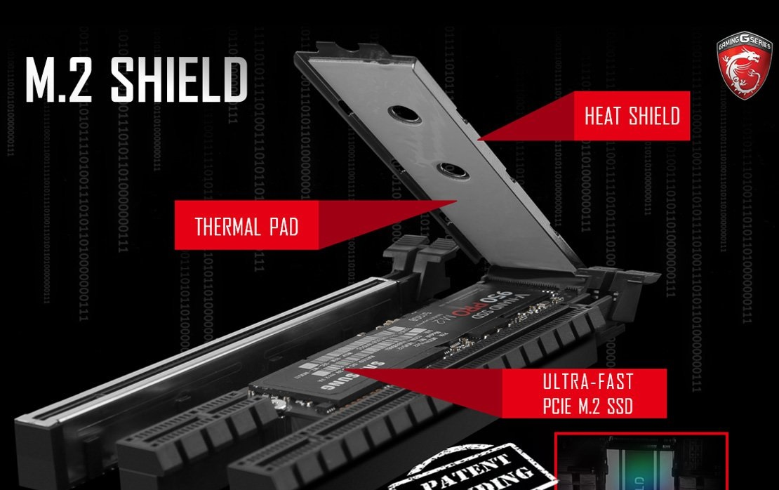 Photo of the new generation of MSI motherboards will contain a dedicated cooling surface for the SSD drives