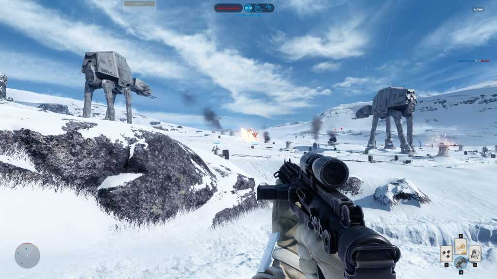 Haven't played Battlefront yet? It is now available at a sixth price
