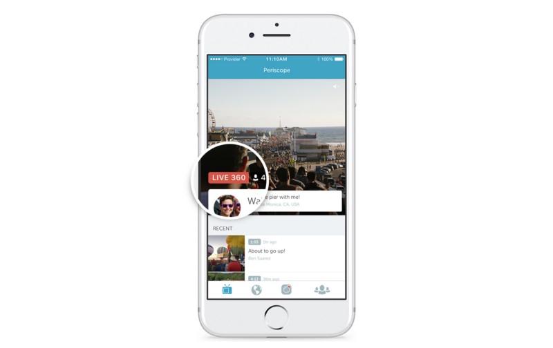 האיכות בוידאו ההדגמה של Periscope ליכולת ה-Live 360 רחוקה מלהרשים - אבל אנחנו מקווים שגם זה משהו שישתפר במורד הדרך