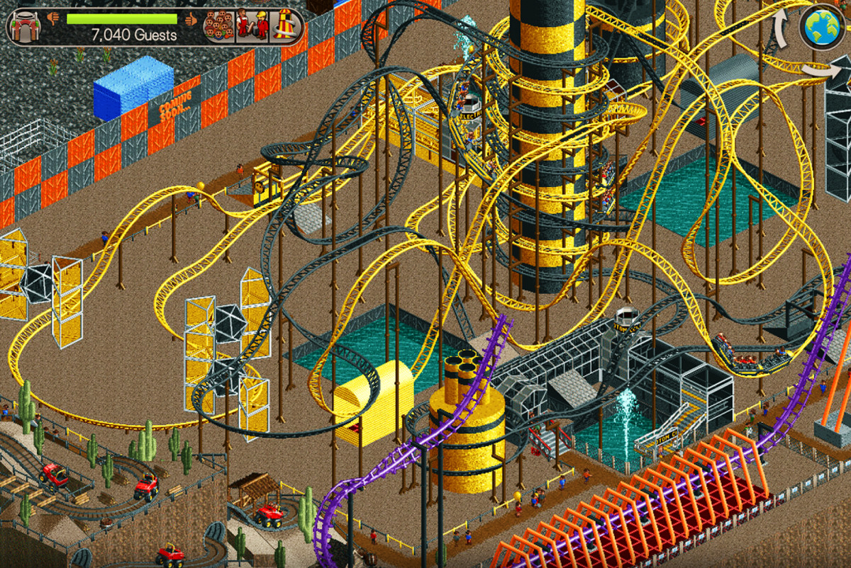 Photo of Let nostalgia flood you: Original RollerCoaster Tycoon available on Android and iOS devices