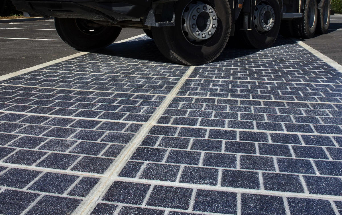 Photo of The world's first solar road