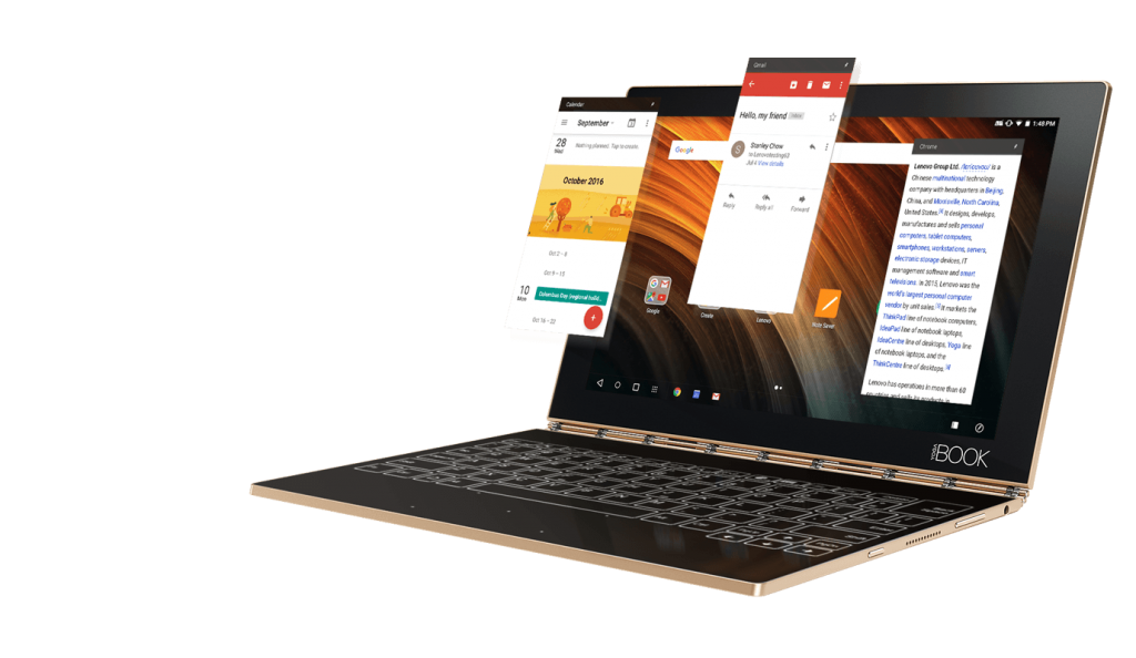 We do not know if the Yoga Book has become a hit - but its creators certainly see fit to try to develop the concept even more, which is an encouraging sign