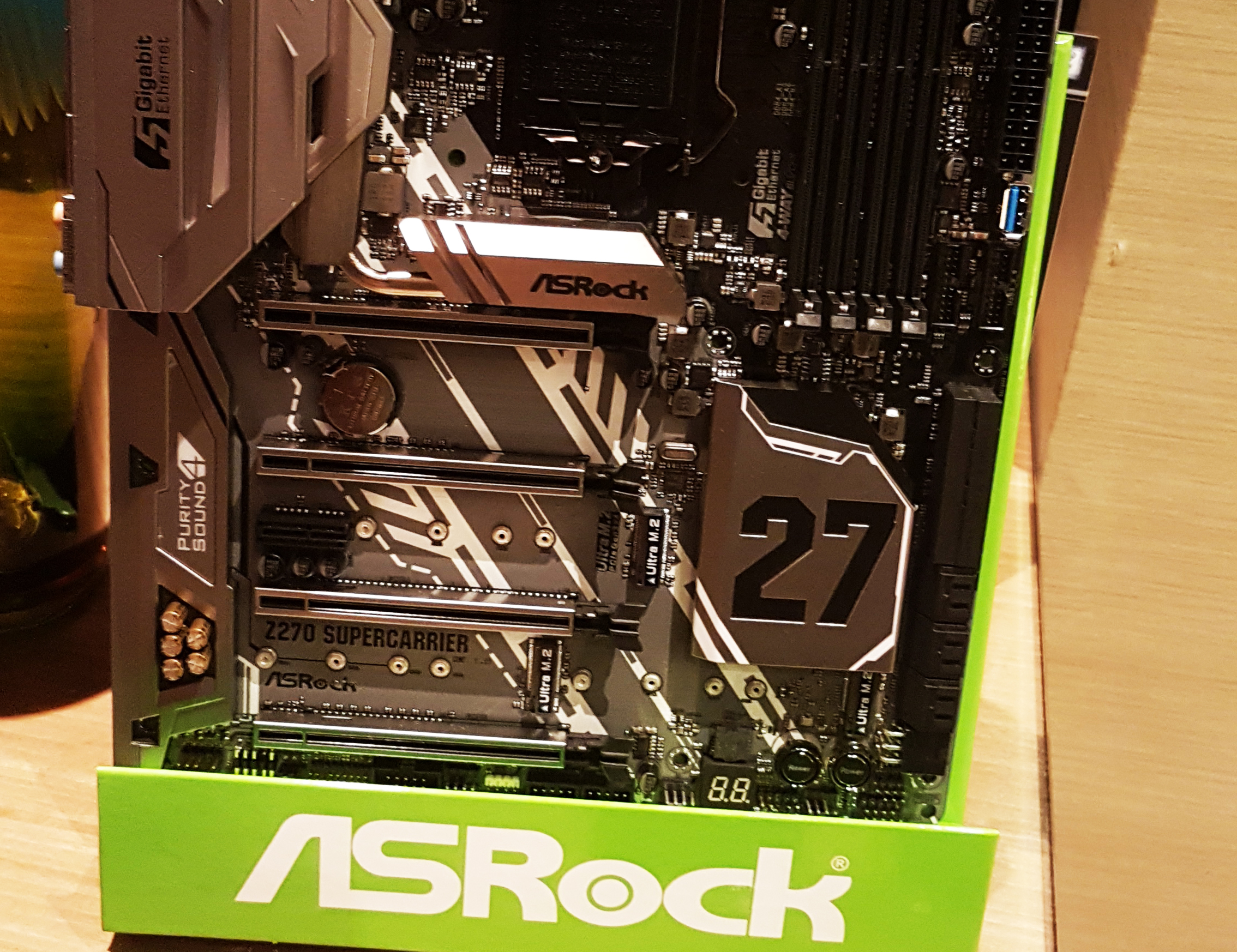 Photo of ASRock booth at CES 2017: Who asked for a motherboard and didn't get it?