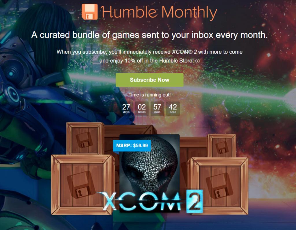 משלמים 12 דולר עכשיו, מקבלים את XCOM 2 מיידית - וגם מספר משחקים נוספים בעוד 27 ימים