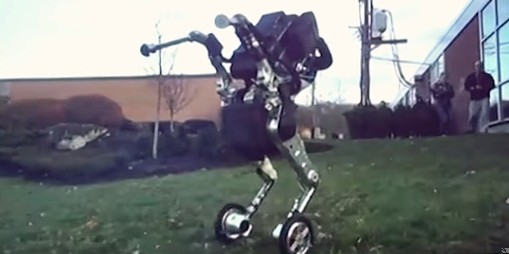 Photo of Watch: Google's Robot Transformer and Boston Dynamics