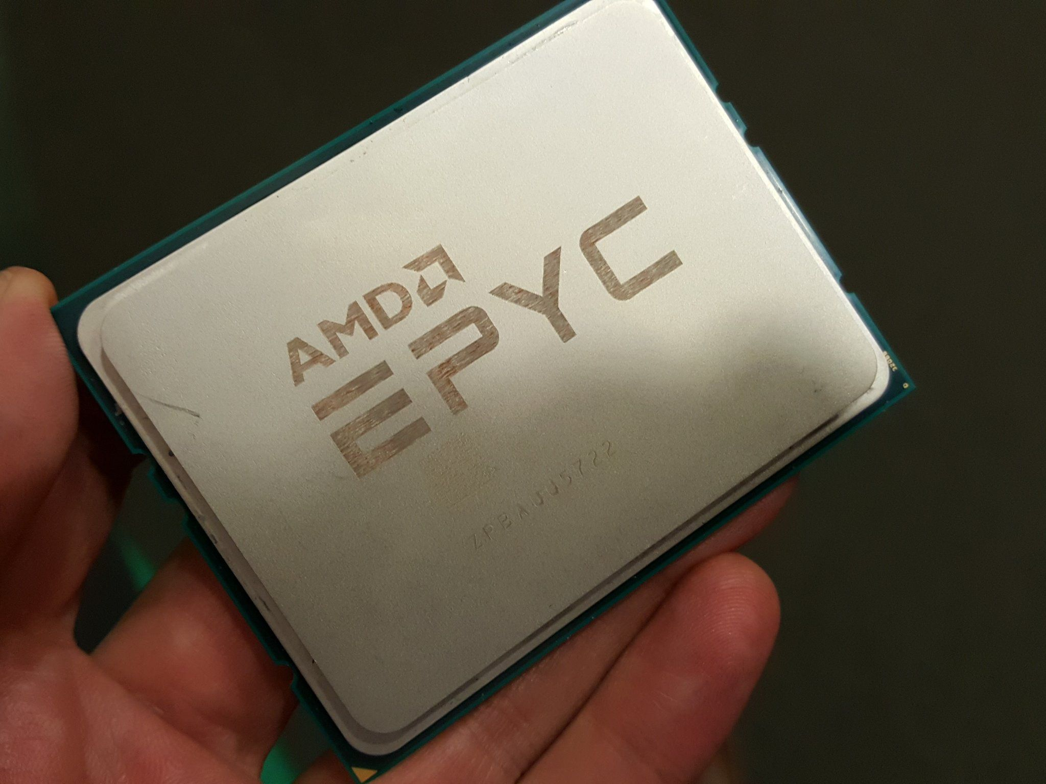 Photo of AMD's most powerful chip ever getting there