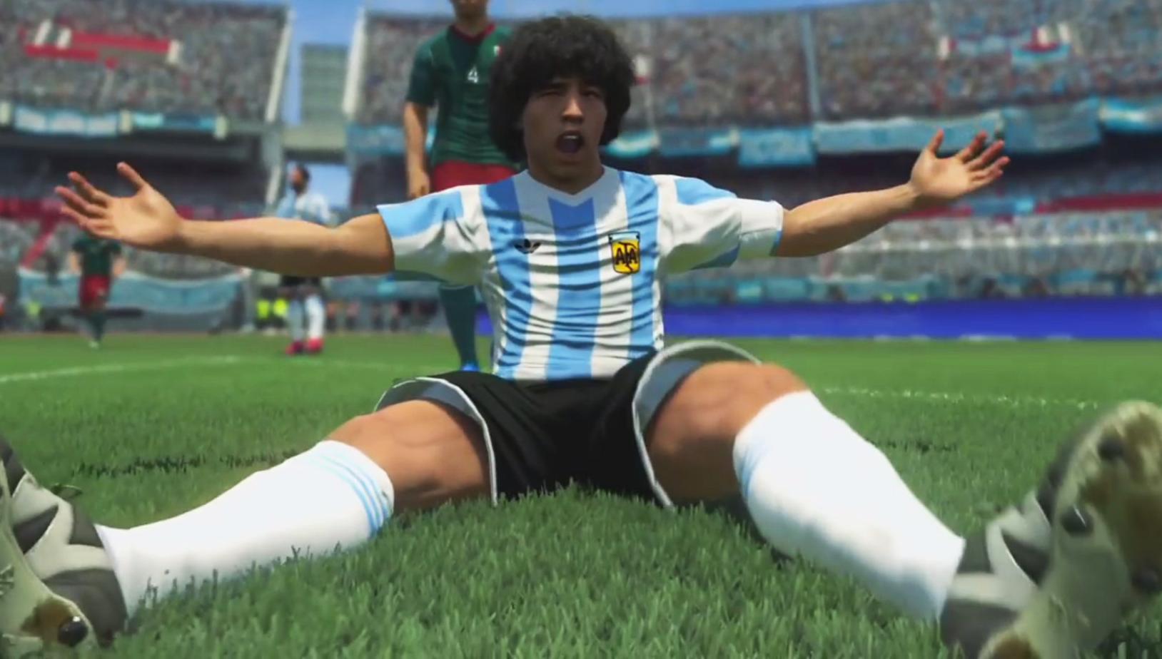 Photo of Maradona makes peace with the gaming world