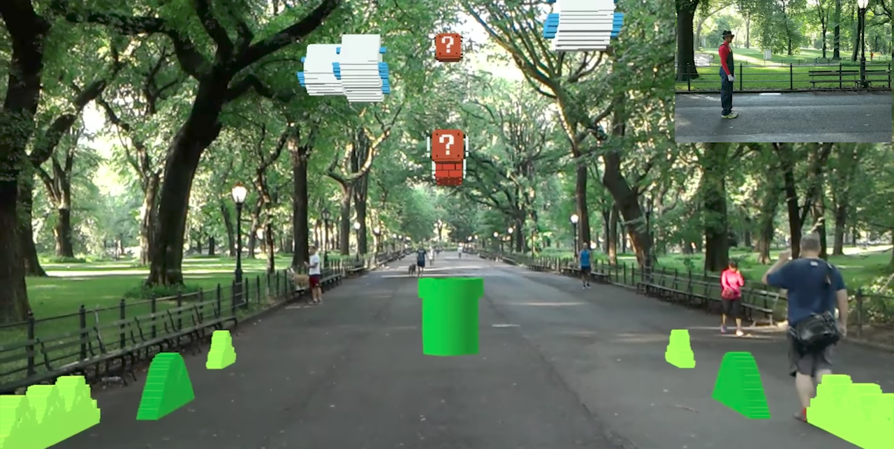 Photo of HoloLens goggles gives a completely new perspective to Super Mario