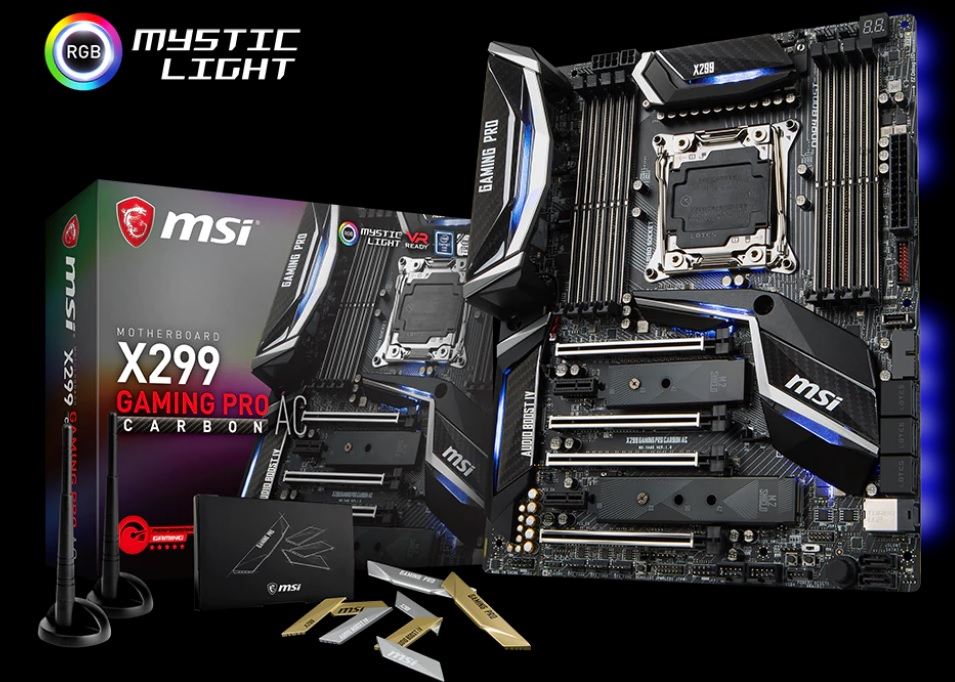Photo of the most interesting LGA2066 boards of MSI and ASRock