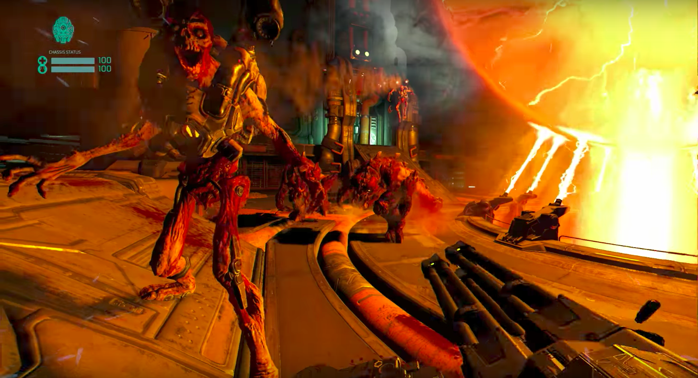 Photo of Watch: This is what Doom looks like in virtual reality