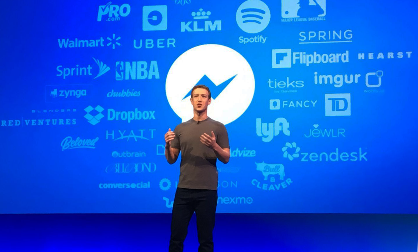 Photo of commercials also reach your Facebook Messenger
