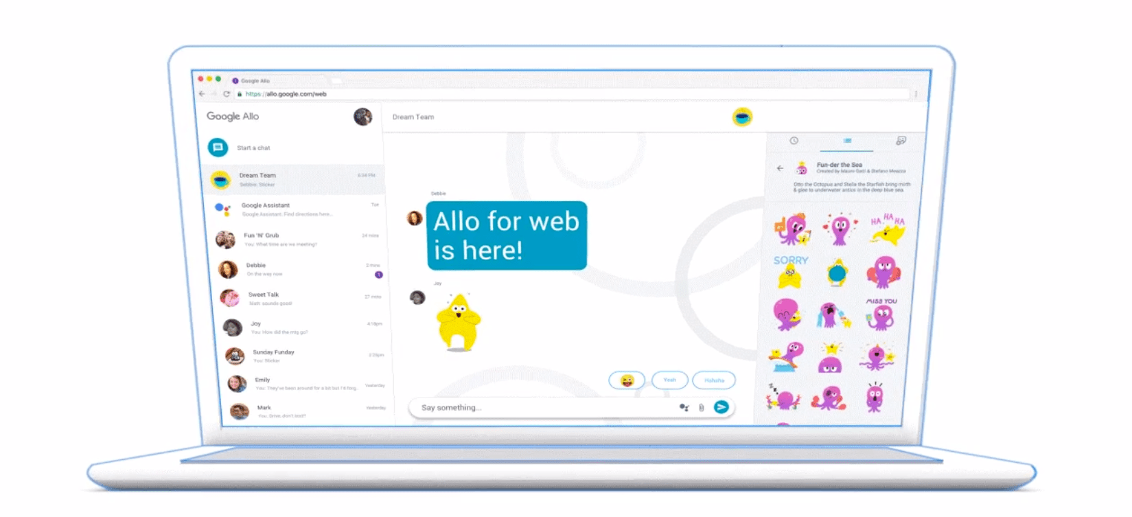 Photo of Google's instant messaging app also reaches desktops