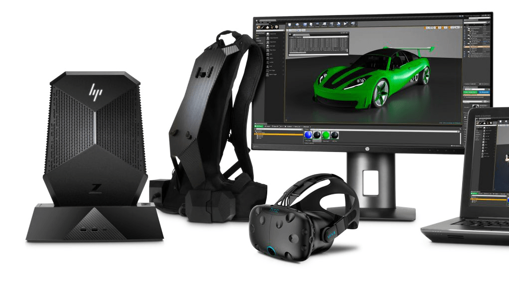 Photo of HP presents: Virtual reality for professional use, on your back