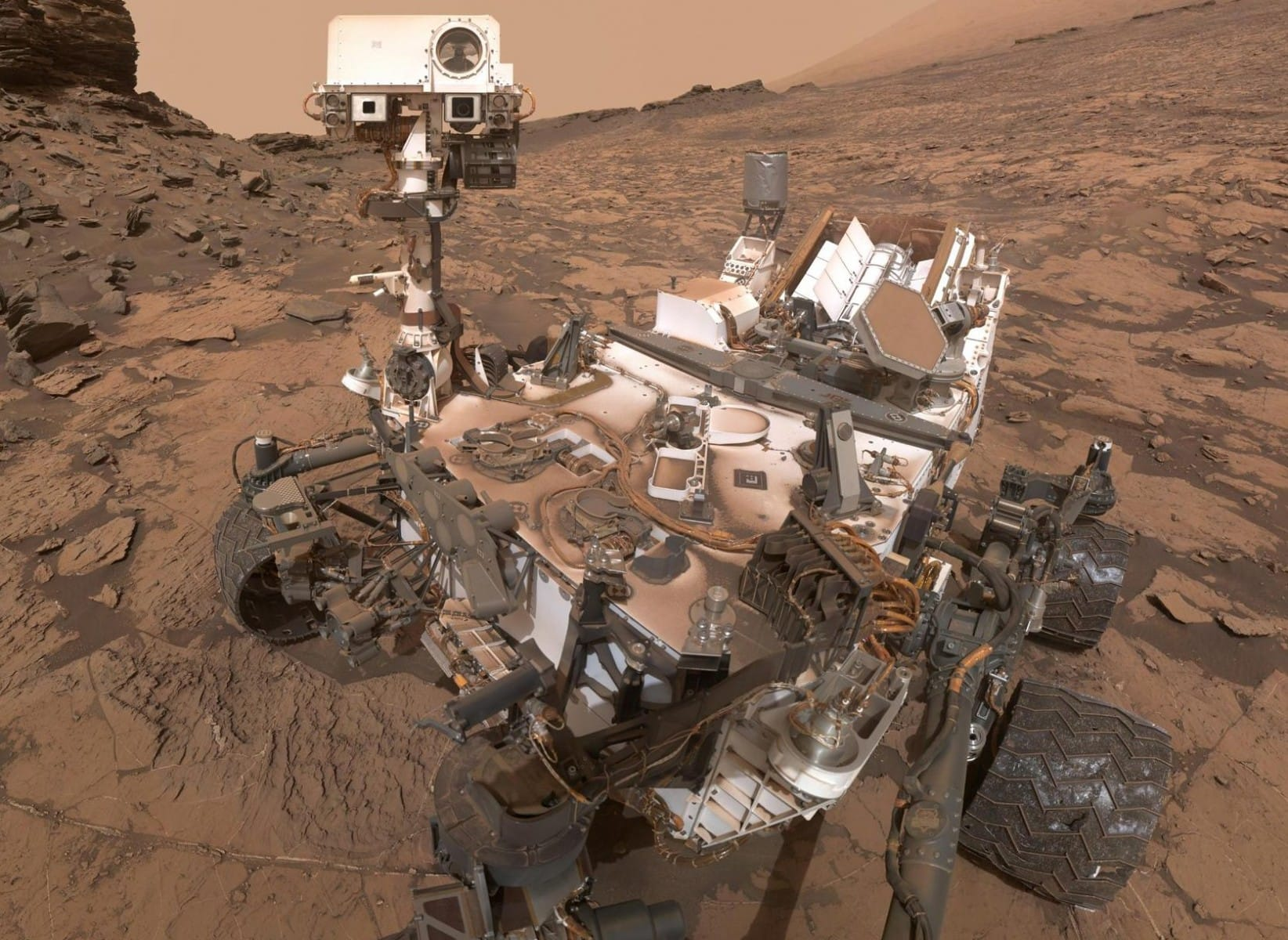 Photo of the robot that conquered Mars celebrates a birthday