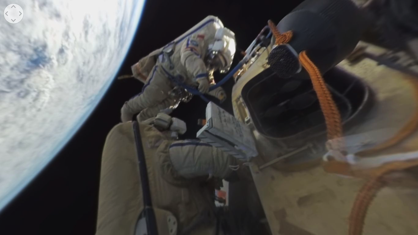 Photo of Touching distance: Space walking was first documented with 360 degrees