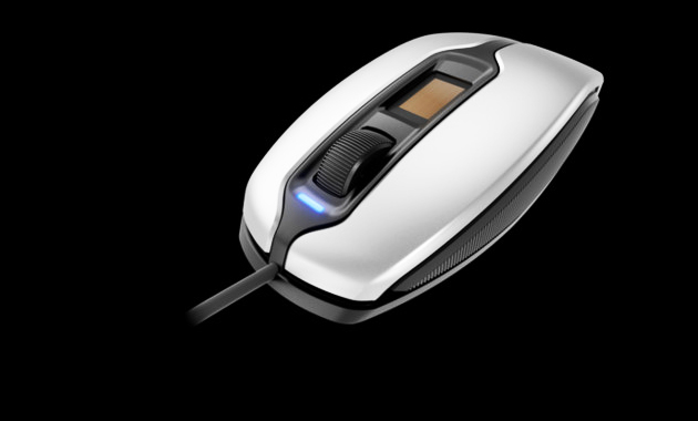 Photo of Required Development: Mouse with built-in fingerprint scanner