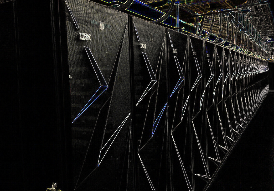 Photo of the supercomputer that will return the crown to the United States is nearing its start