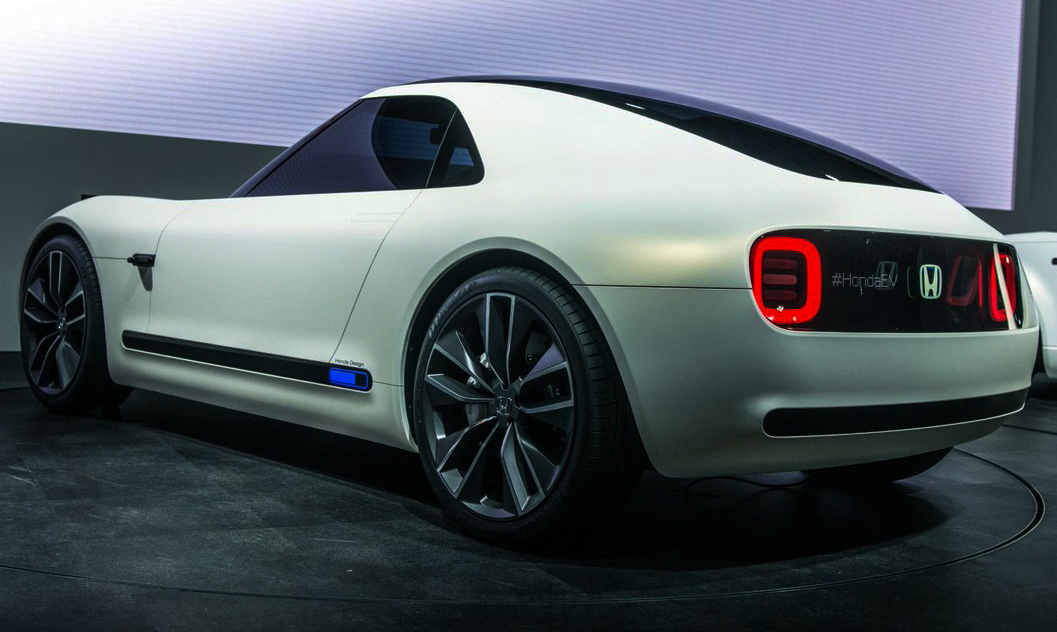 Fantastic Honda Photo: Electric car that will load in 15 minutes