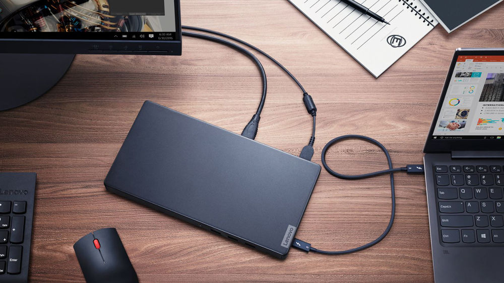 Photo of Lenovo presents a particularly thin Thunderbolt 3 case for graphic processing