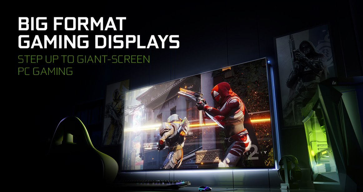 Photo of the NVIDIA show: Gaming on huge screens