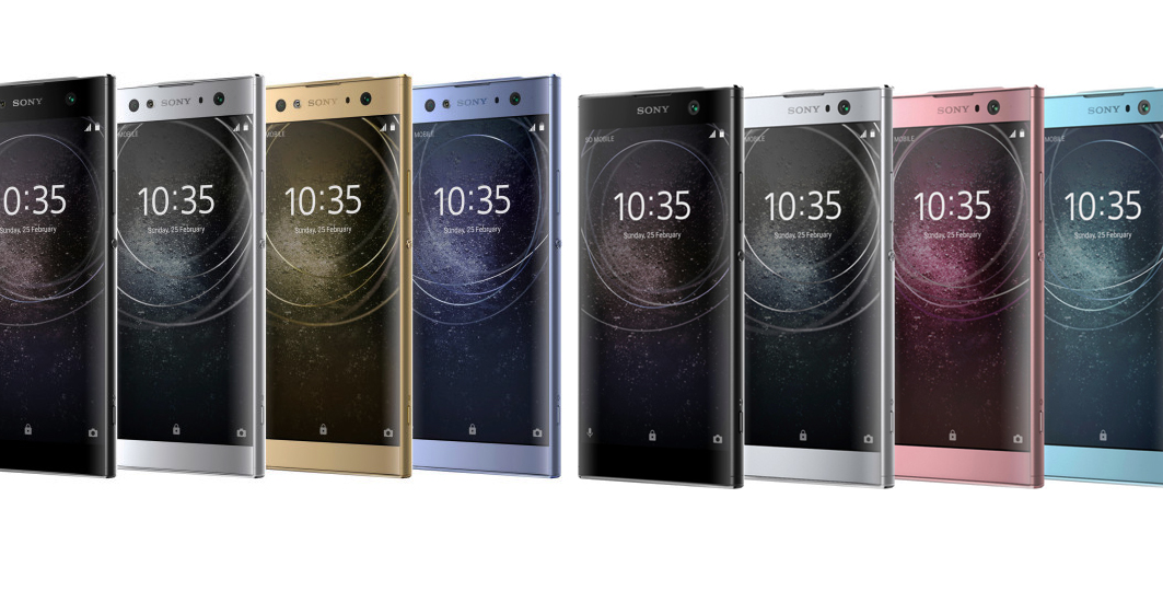 Sony's new photo: Xperia XA2 and Xperia L2 are featured in official photos