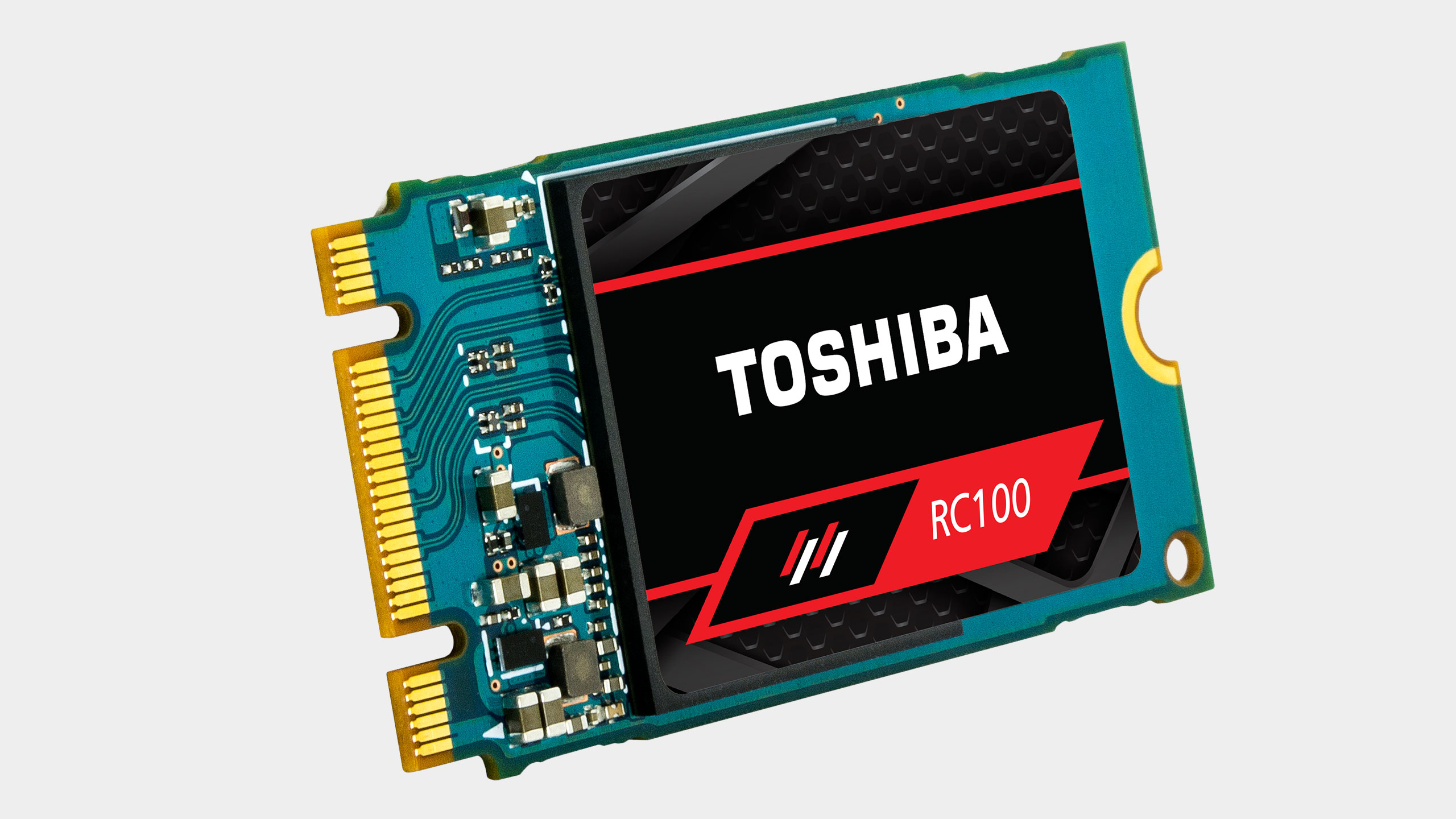 Photo of Toshiba shows a promising small SSD drive with fast NVMe technology
