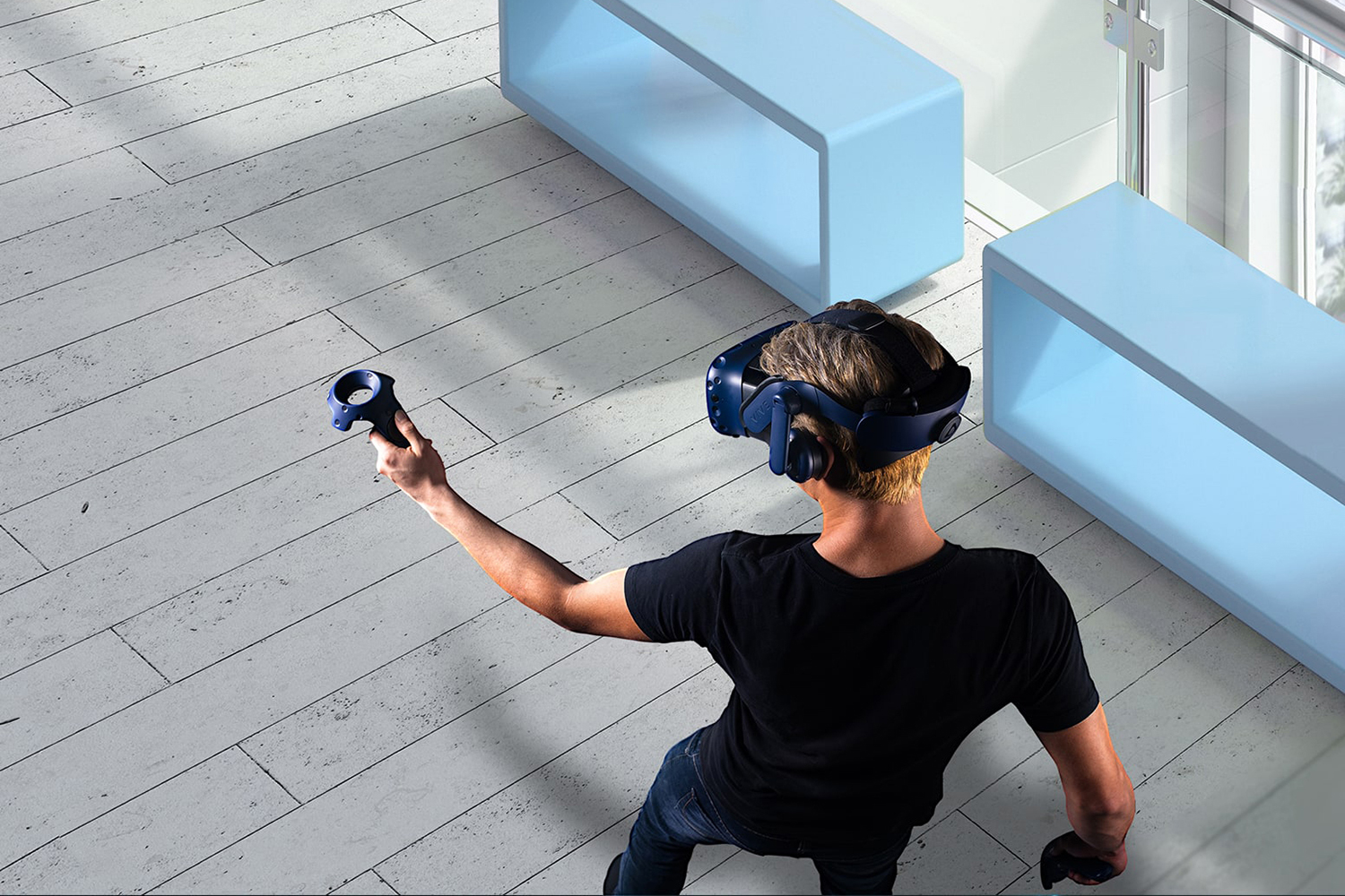 Photo of HTC's virtual reality league of its own