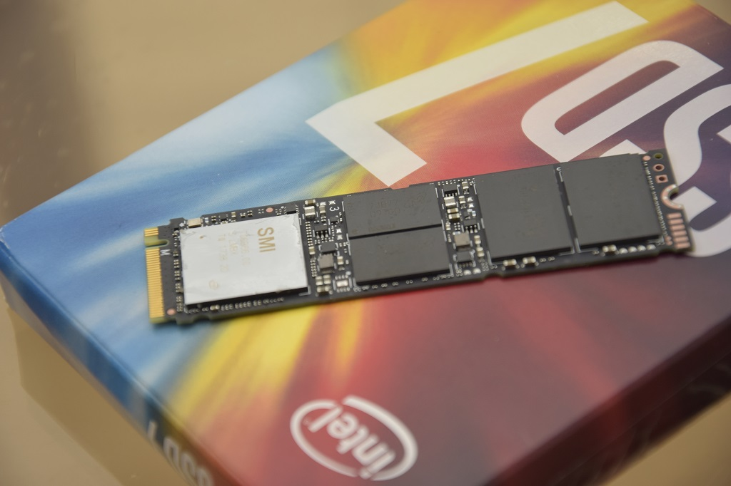 Intel SSD 760p in the HWzone controller