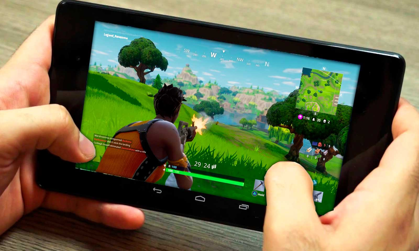 Photo of the addictive Battle Royale hit hits your smartphone (updated)