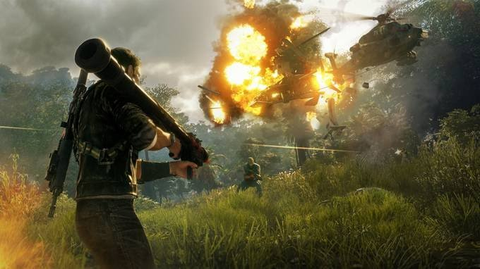 Photo of Watch: Just Cause 4's first gaming video
