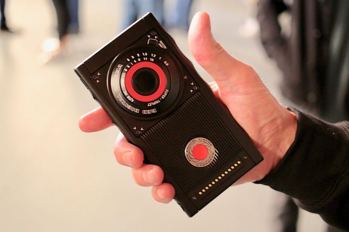Photo of the futuristic smartphone from Red is nearing launch