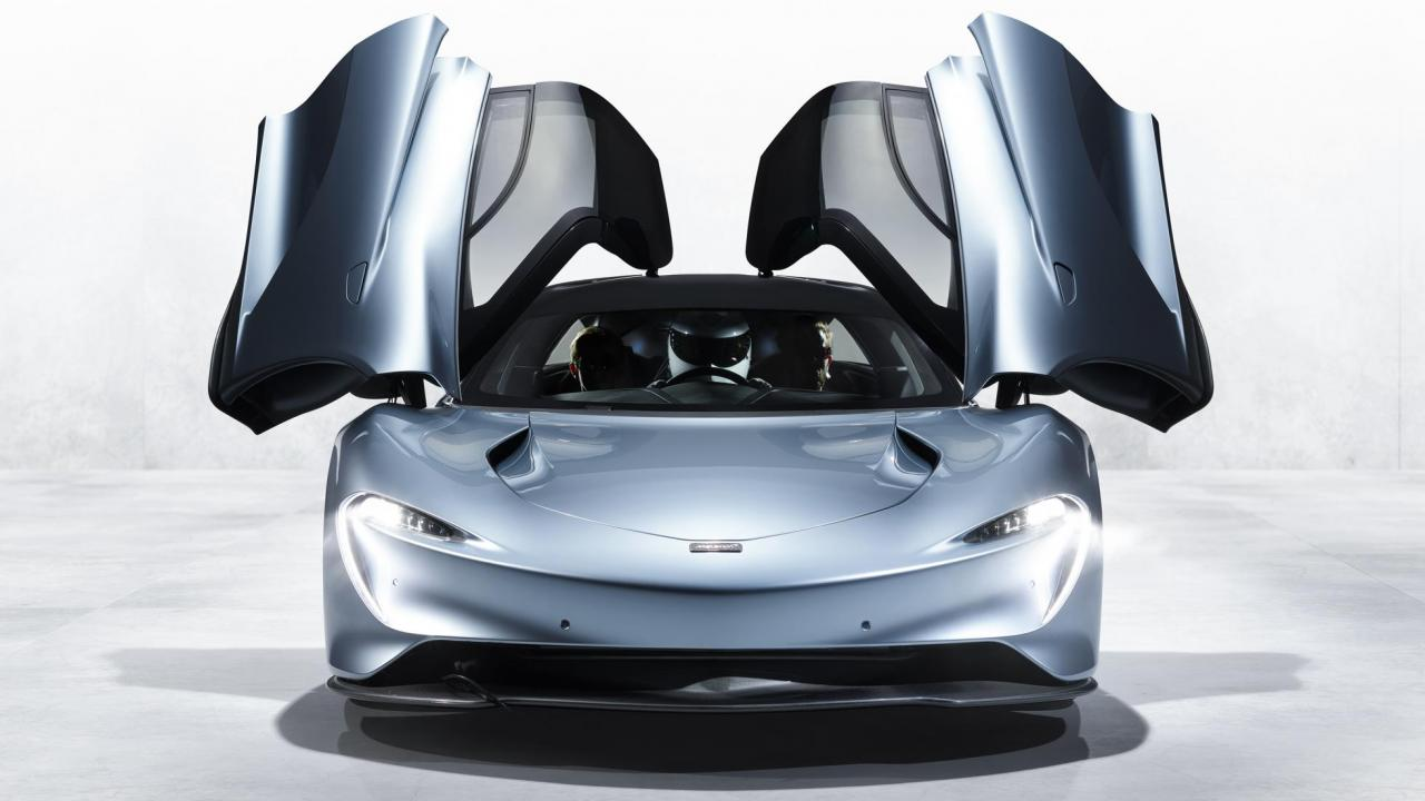 Photo of Glory of British Creation: McLaren Reveals the Amazing Speedtail Car