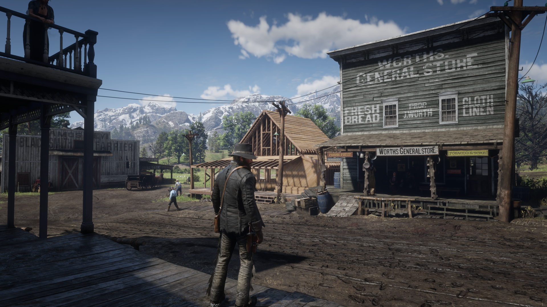Photo of the smartphone becomes part of the game in Red Dead Redemption 2