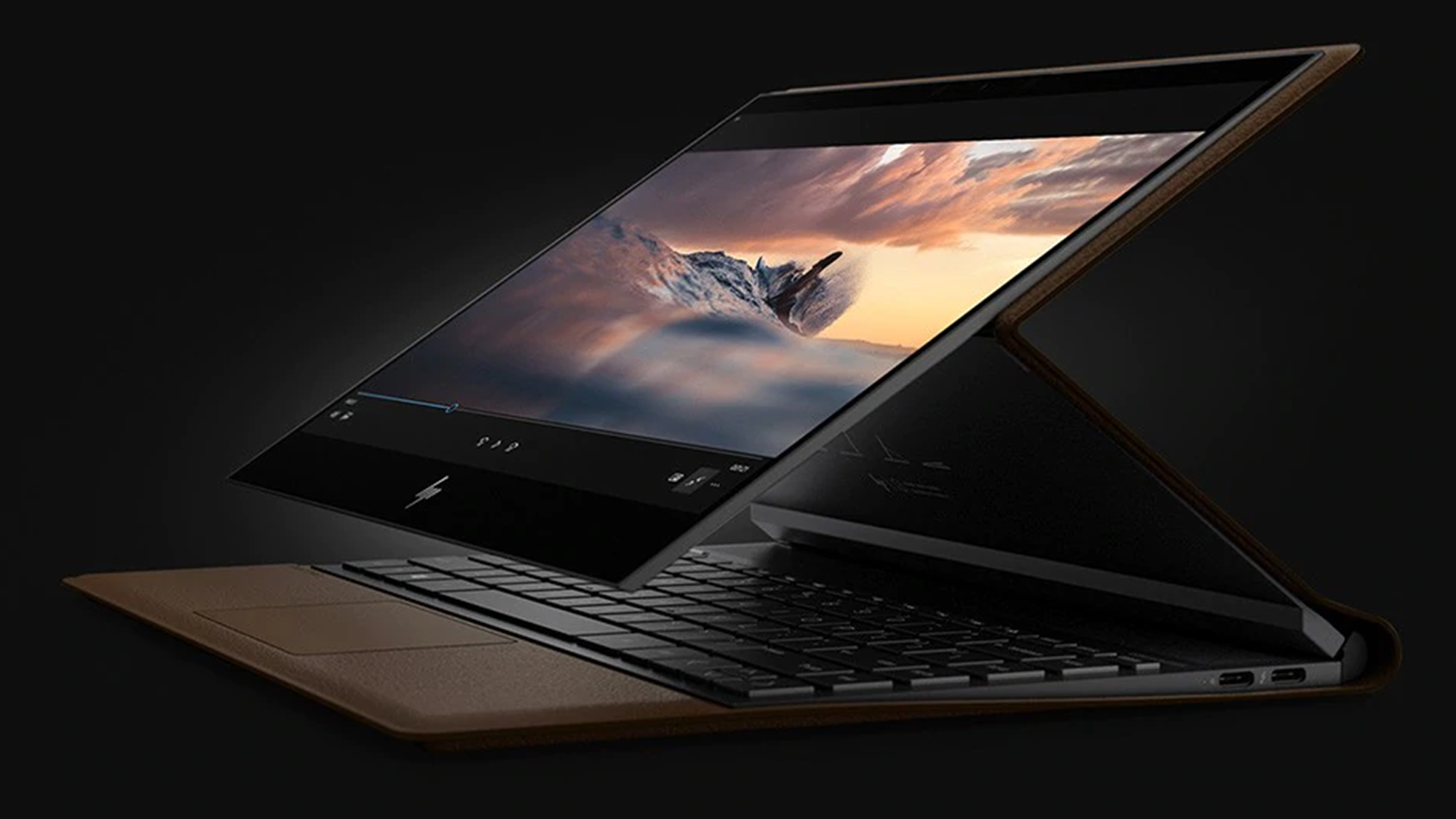 Photo of leather instead of metal: HP is trying to reinvent the design of laptops