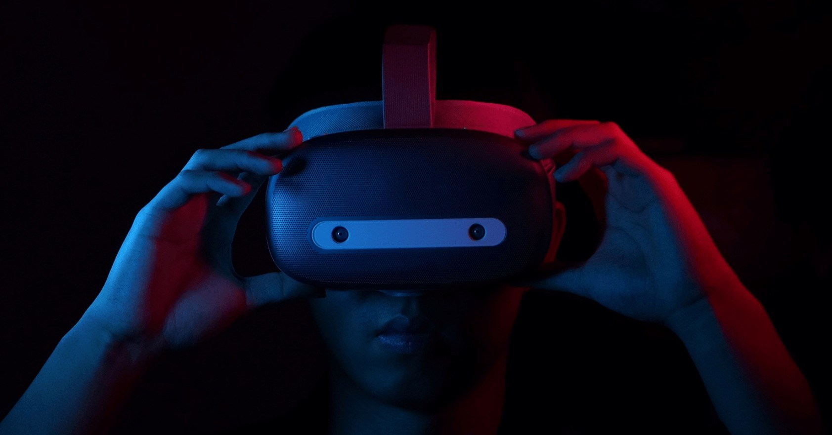 Photo of yesterday's hardware, tomorrow's VR