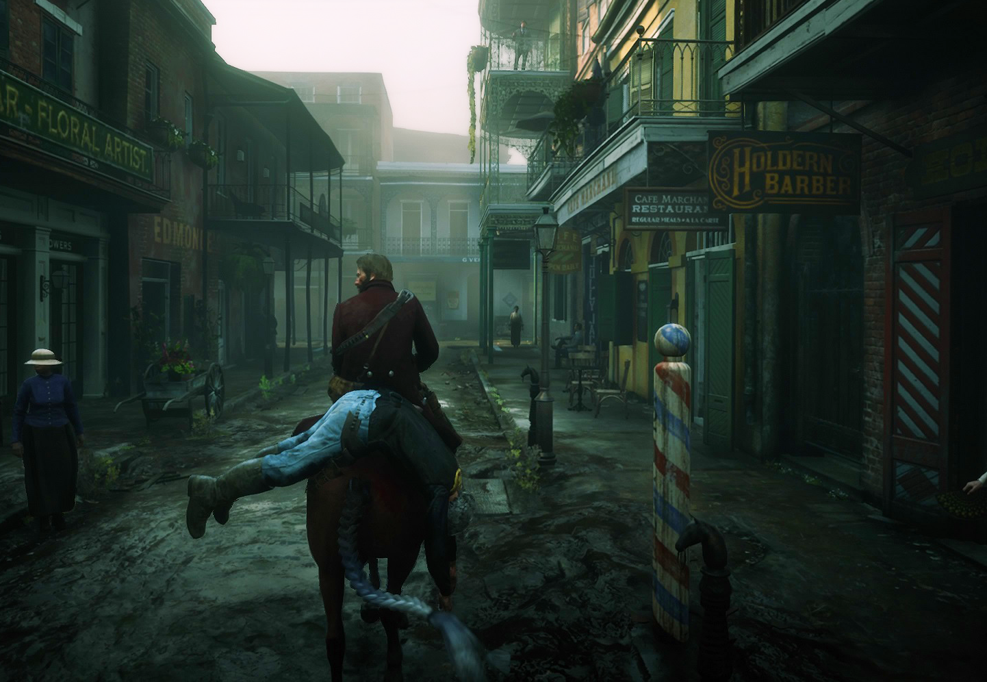 Photo of getting lost in the wild west of Rockstar Games
