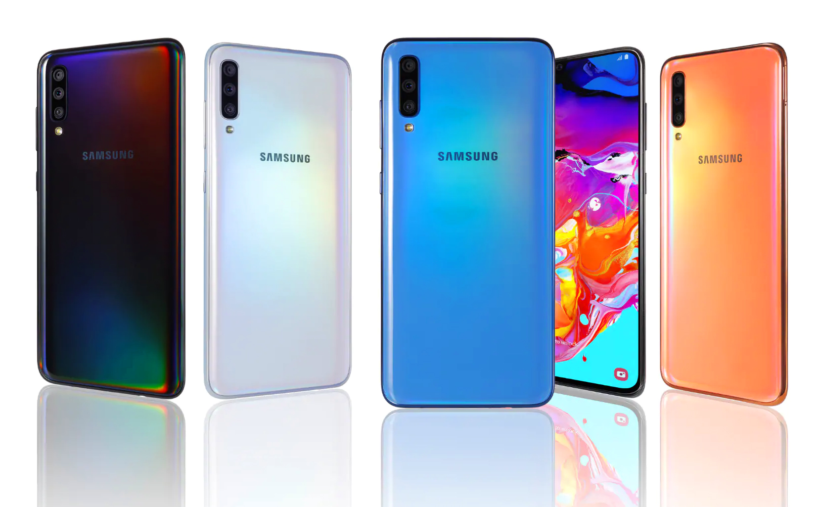 Photo of New guests in Israel: Galaxy A70 and Galaxy A20