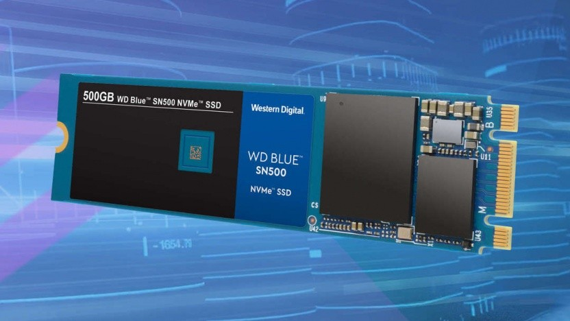 Photo of Western Digital Blue NVMe drives in the country