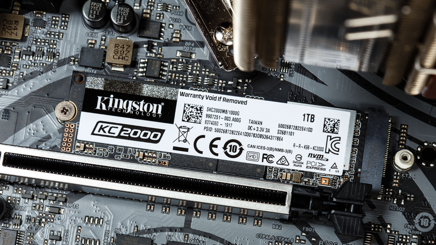 Photo of another NVMe for the masses: Kingston's new SSD drive