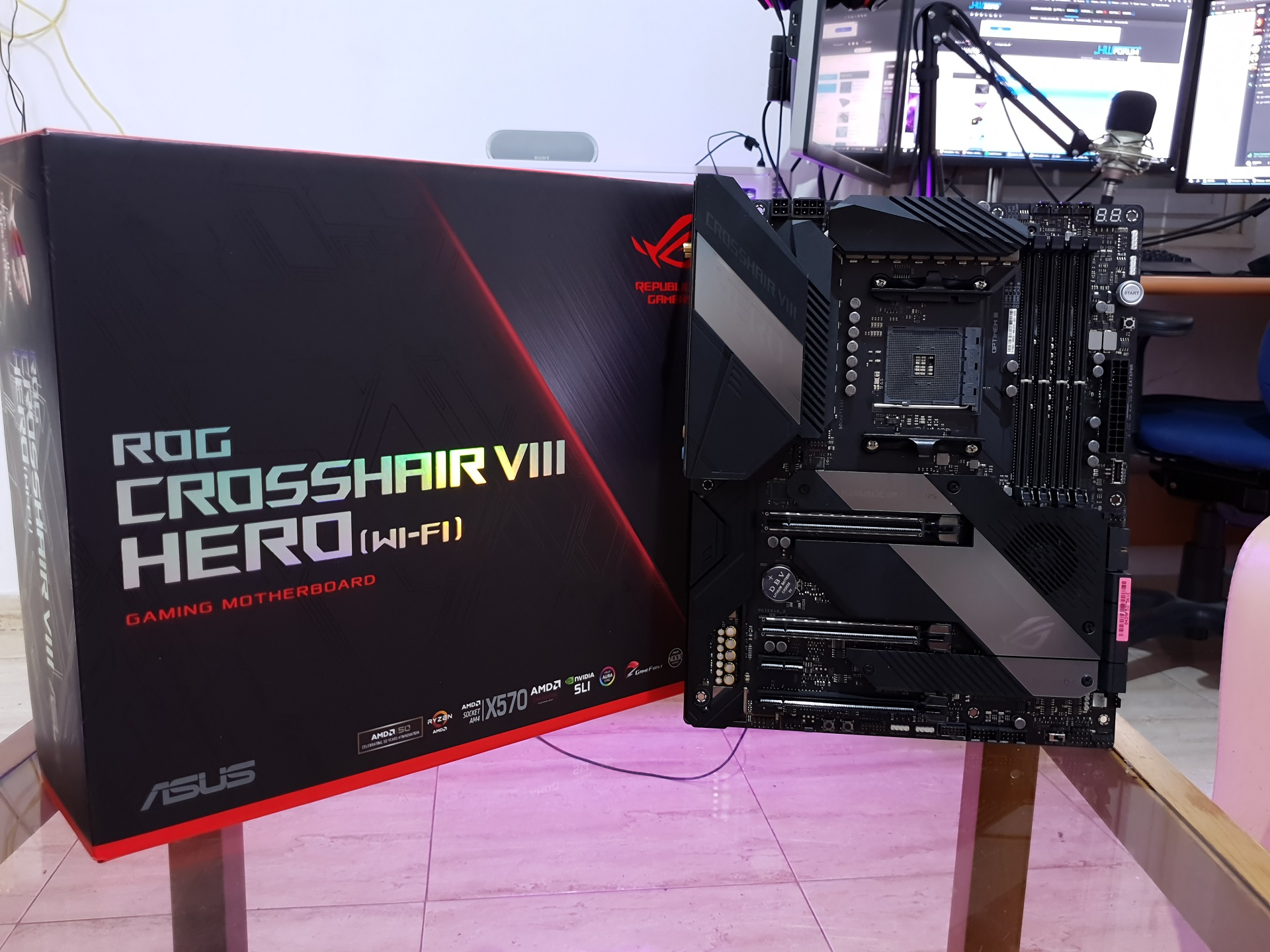 Photo of Ready for 16 Cores: Exploring Motherboard Asus Crosshair VIII Hero X570